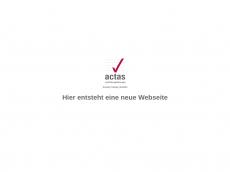 Screenshot der Domain actas-marketing.de