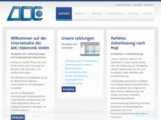 Screenshot der Domain adc-elektronik.de