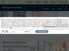 Screenshot der Domain adc-soest.de