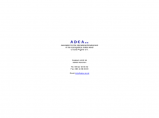 Screenshot der Domain adca-ev.de