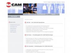 Screenshot der Domain adcam.de