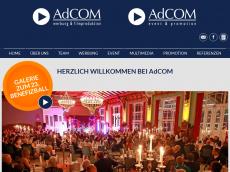 Screenshot von adcom-md.de
