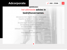 Screenshot der Domain adcorporate.de