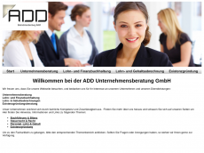 Screenshot der Domain add-beratung.de