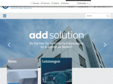 Screenshot von add-solution.de