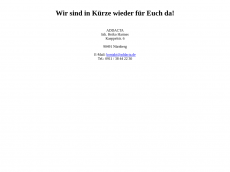 Screenshot der Domain addacta.de