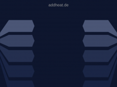 Screenshot der Domain addheat.de
