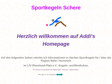 Screenshot der Domain addi-homepage.de