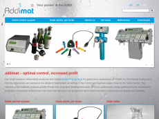 Screenshot der Domain addimat.com
