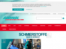 Screenshot der Domain addinol-shop.de