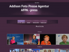 Screenshot der Domain addison-foto-presse-agentur.de