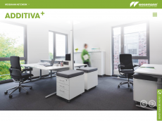 Screenshot der Domain additiva-plus.de