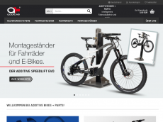 Screenshot der Domain additive-bike.de