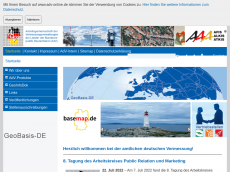 Screenshot der Domain adv-online.de