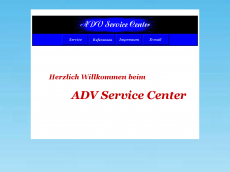 Screenshot der Domain adv-service-center.de