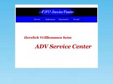 Screenshot von adv-service-center.de