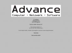 Screenshot der Domain advancecomputer.de