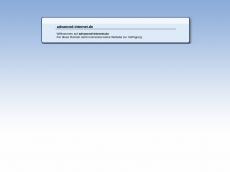 Screenshot der Domain advanced-internet.de