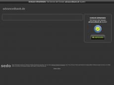 Screenshot von advancedbank.de