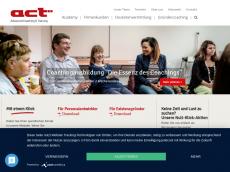 Screenshot der Domain advancedcoachingandtraining.de
