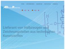 Screenshot von advancedplastics.de