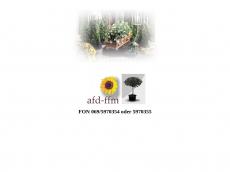 Screenshot der Domain afd-ffm.de