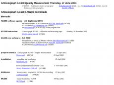 Screenshot der Domain ag500.de