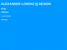 Screenshot der Domain alexlorenz.de