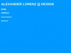 Screenshot von alexlorenz.de