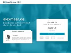 Screenshot von alexmaar.de