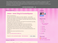 Screenshot der Domain alexmeetsemma.blogspot.com