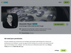 Screenshot der Domain alexmeyer.de