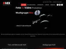 Screenshot der Domain alexmusik-video.de