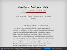 Screenshot von alexneumeister.de