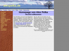 Screenshot der Domain alexpelka.de