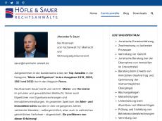 Screenshot von alexsauer.de