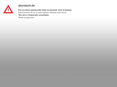 Screenshot der Domain alexstach.de