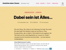 Screenshot der Domain alext.de