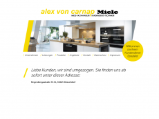 Screenshot der Domain alexvoncarnap.de