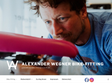 Screenshot der Domain alexwegner.de