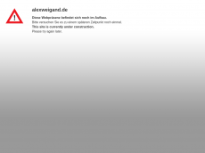 Screenshot der Domain alexweigand.de