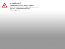 Screenshot von alexweigand.de