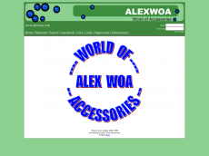 Screenshot der Domain alexwoa.de