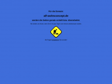 Screenshot der Domain alf-wohnconcept.de