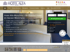 Screenshot der Domain alfa-city-center.de