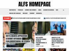 Screenshot der Domain alfshomepage.de