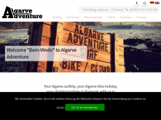 Screenshot der Domain algarve-adventure.com