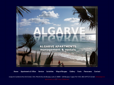 Screenshot der Domain algarve-apartments.net