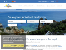 Screenshot der Domain algarve-ferienhaus-portugal.de