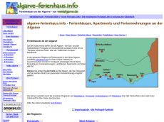 Screenshot der Domain algarve-ferienhaus.info